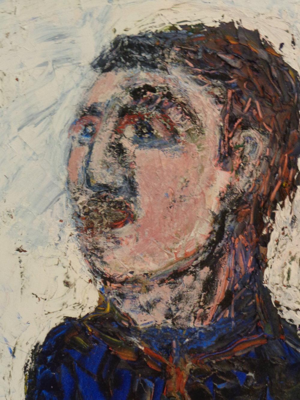 Enrique - oil on canvas 2017