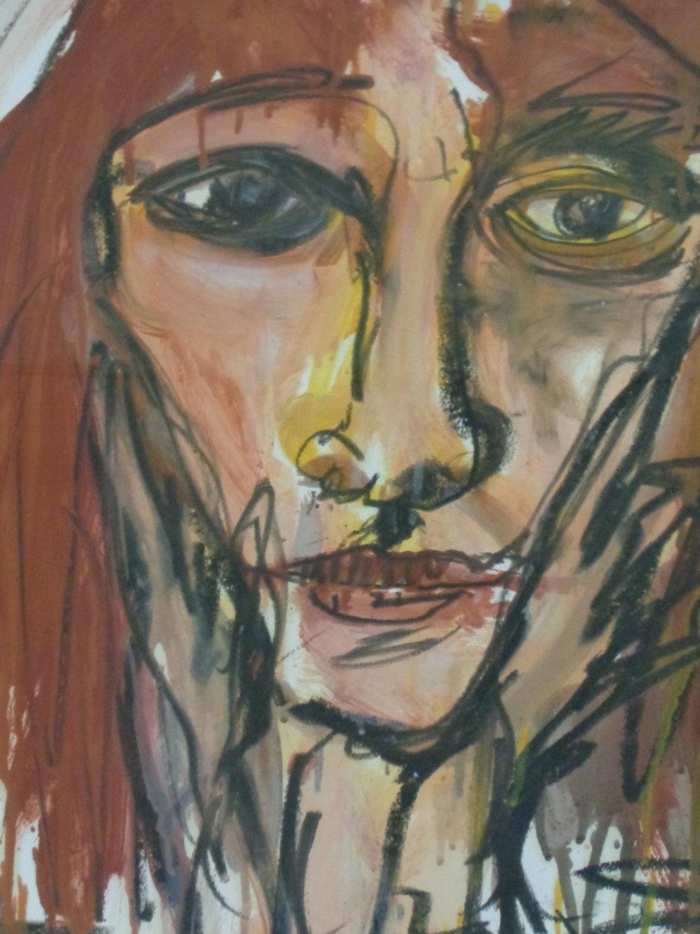 Dorothy Belmonte - Oil on paper 2011