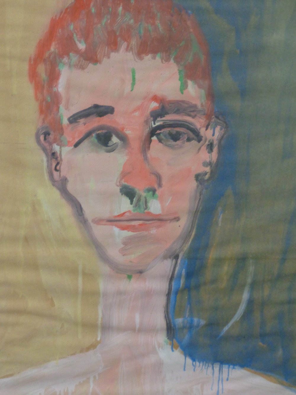 Siobahn Staring - Oil on Paper 2013