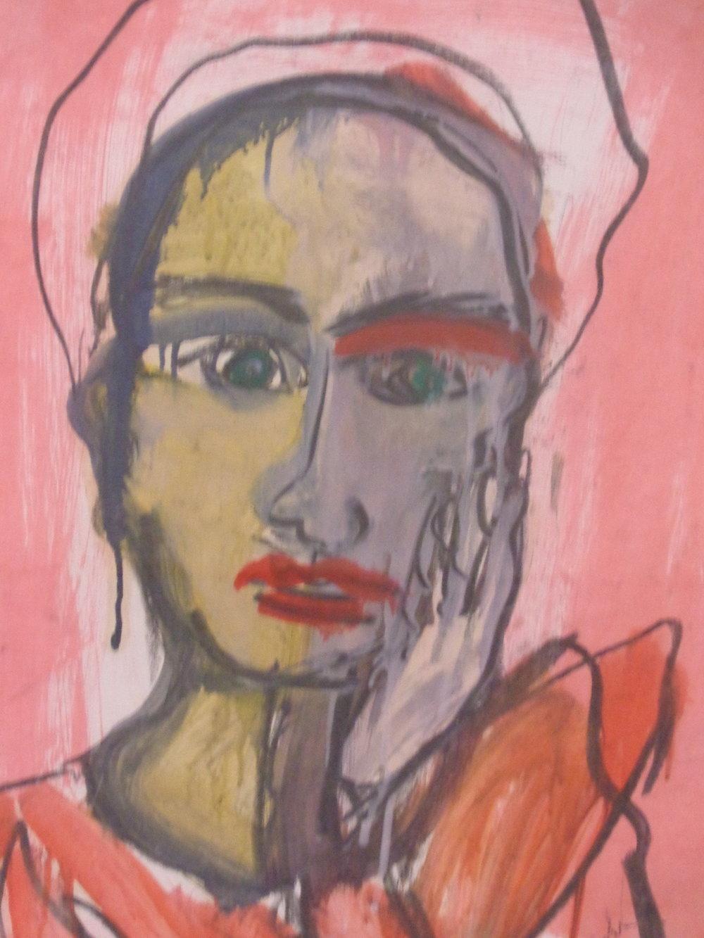Claire Petit - Oil on Paper 2010