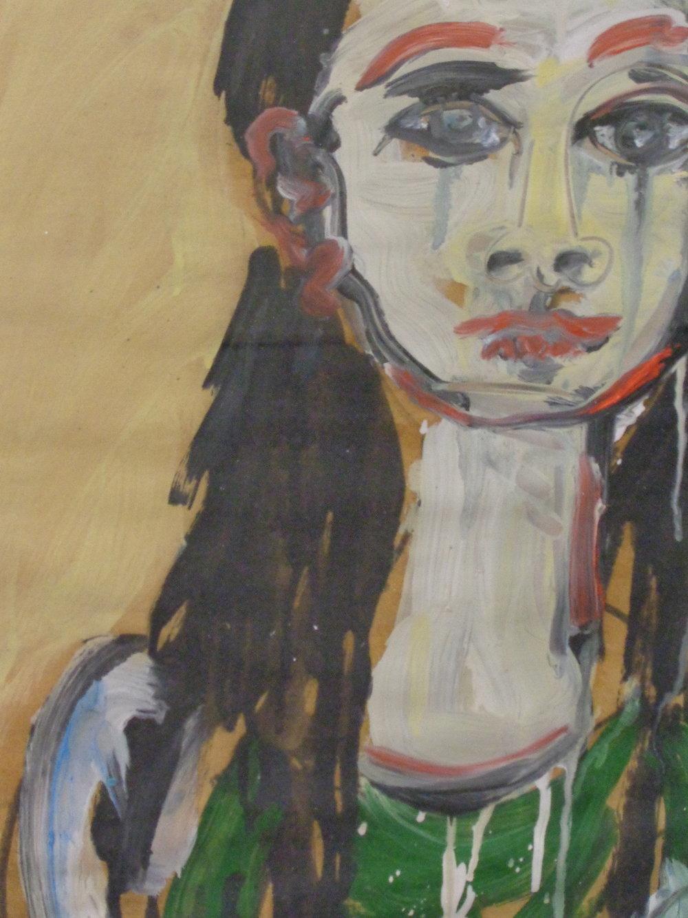 Sonoko Glaring - Oil on paper 2012