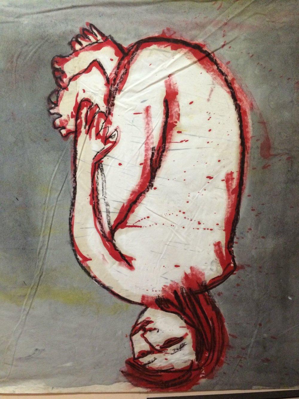 Nokko - oil on canvas 2000