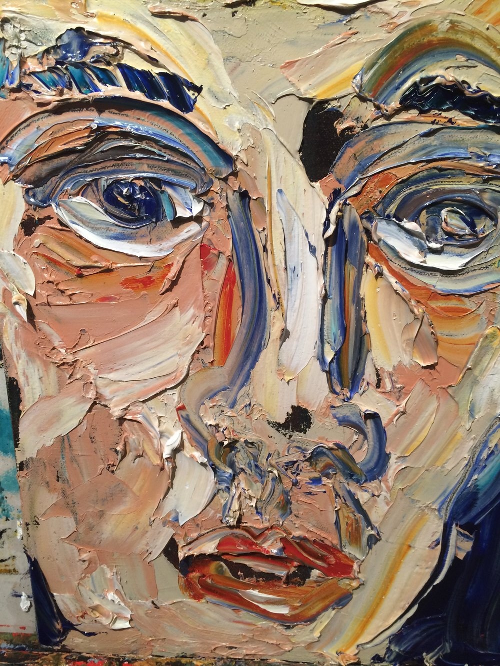 Siobhan - oil on canvas 2016