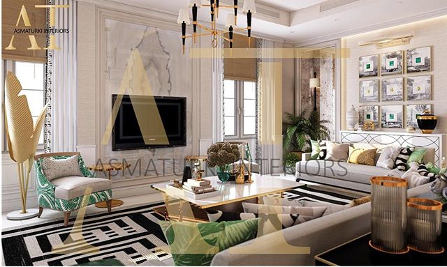 من أعمالنا ✨ تصميم داخلي لصالة استقبال و استخدمنا فيها درجات الوان تروبيكال ( الاستوائية🍃) .  اوقات الاتصال لمواعيد التصميم أو الاستشارة ( ٨ صباحا - ٣ العصر ) من الاحد الى الخميس 📱 على الجوال 055 606 1236 او عن طريق الايميل📩  info@asmaturki.com . #interiorinspo #interiorinspiration #interiors #style #inspo #inspiration #decor #theworldofinteriors #chandelier #luxury #mansion #home #homedecor #interiordesigner #design #homedesign #adstyle #elledecor #decoration #decorlovers #art #vogueliving #interiordecorating #quote #shopthepost #westwingnow #westwing
