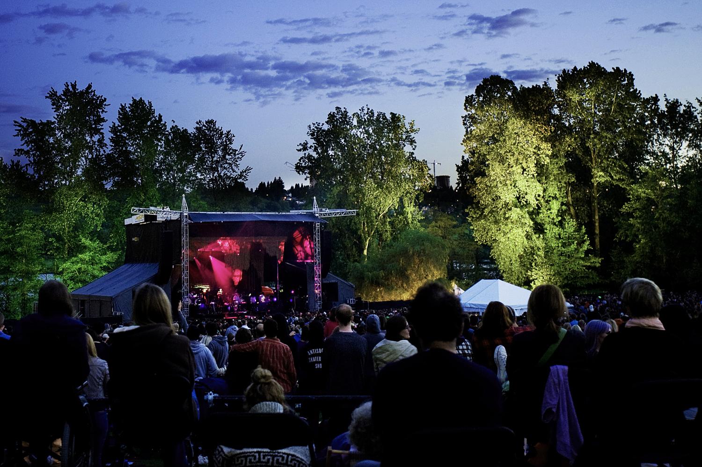 GETTING HERE — Festival Lawn at Deer Lake Park