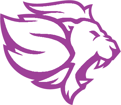 Lion Png Purple Outline.png