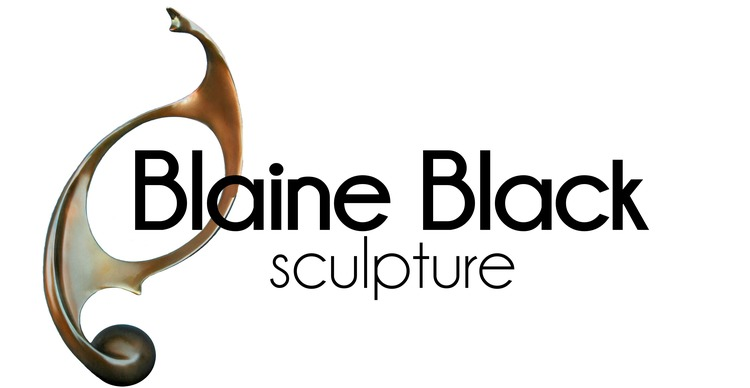 Blaine Black Sculpture