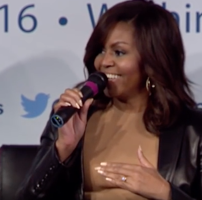 First Lady Michelle Obama speaks at the Aspen Institute's Project Play Summit on May 17, 2016. Check out the entire video here.