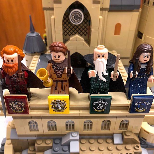 Take a scroll through to see Aaron's finished Harry Potter castle! __________________________ #castle #harrypotter #goodmorning #lego #brickartbyaaron #bricks #builder #edmonton #yeg #yegliving #yeggers #wip #finishedproduct #professors #warnerbros #harrypotterfan #skill #time #entrepreneur #autismawareness #teamwork
