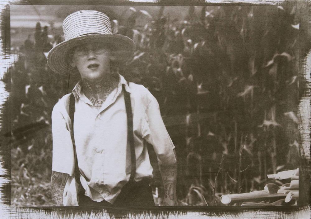 Amish Boy #3