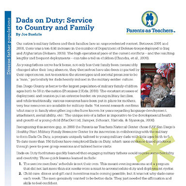 Dads on Duty: Service to Country and Family By Joe Buehrle
