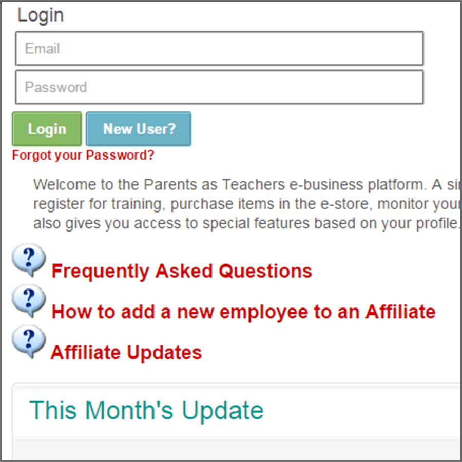 eBusiness Portal