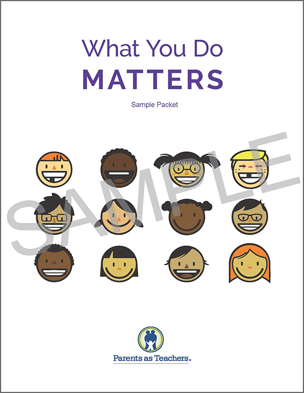 Click the image above to download a PDF sample packet of the  What You Do Matters  program.