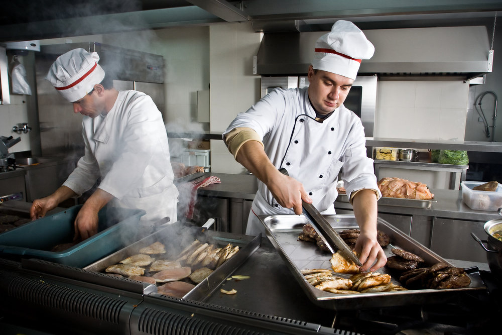 Restaurant Kitchen Chefs restaurant industry continues to add jobs — service first