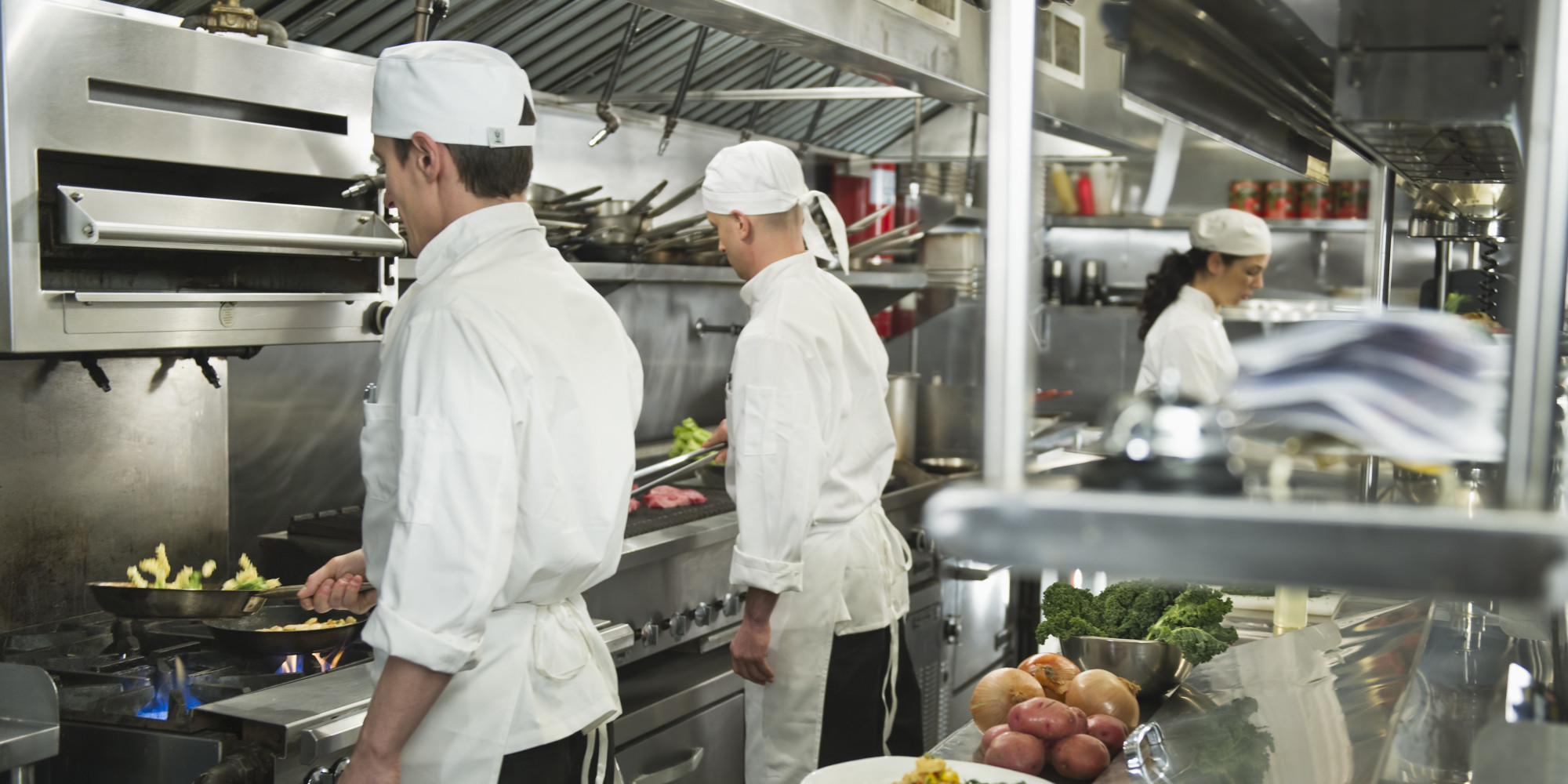 Chef Shortage In Restaurant Kitchens