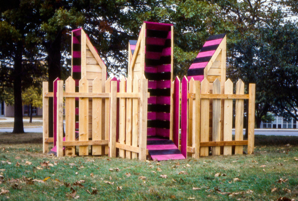 Garden Towers (Four Private Scream/Think Boxes For Public Use)