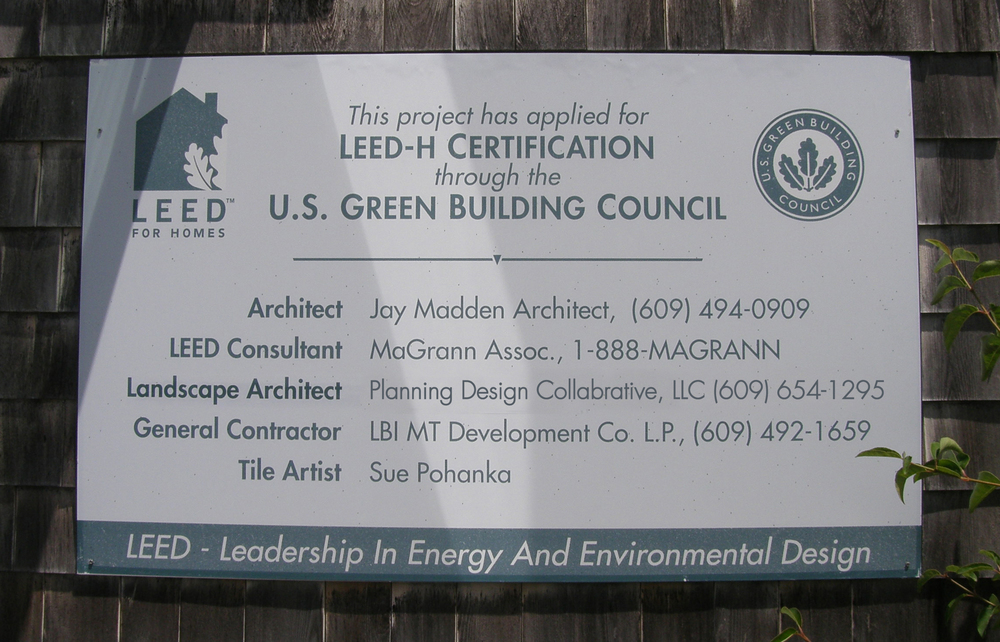 Green home design and construction leed