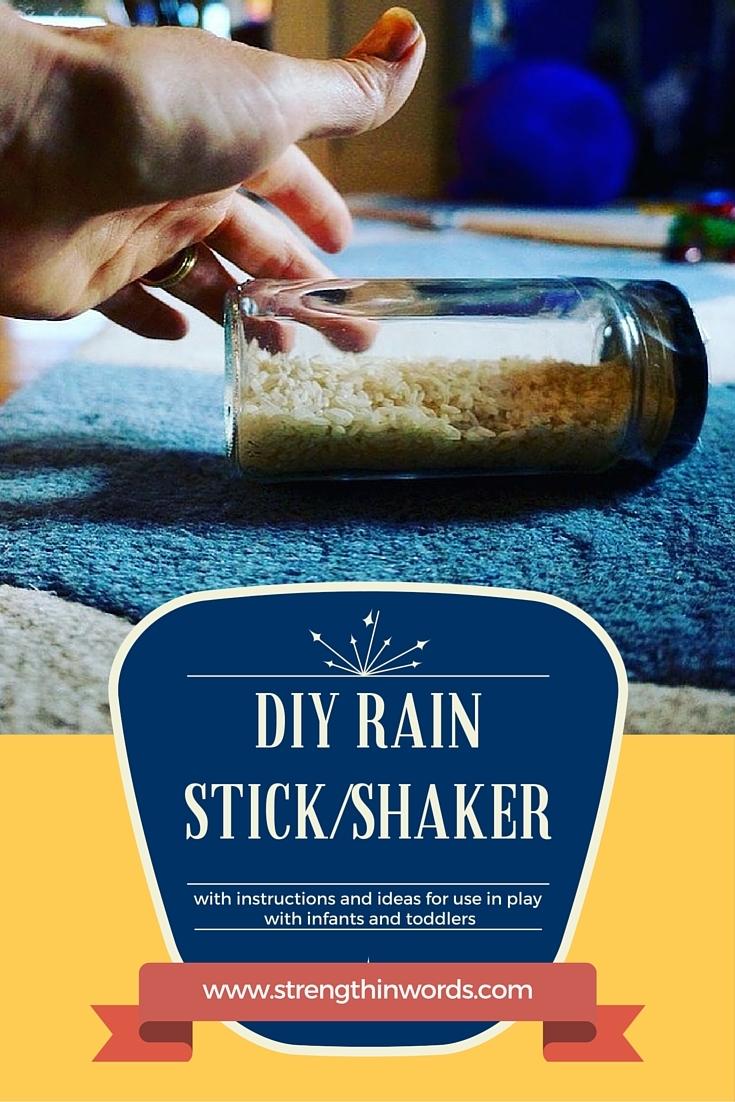 DIY Rain Stick / Shaker