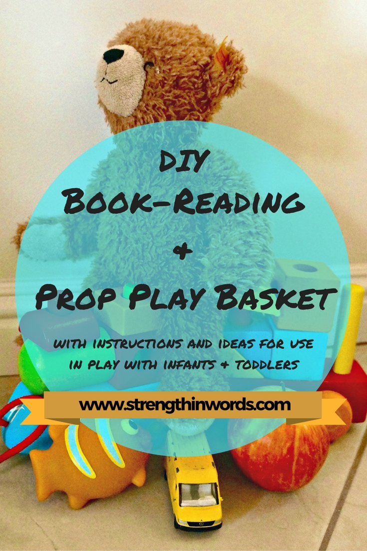 DIY Book Reading and Prop Play Basket