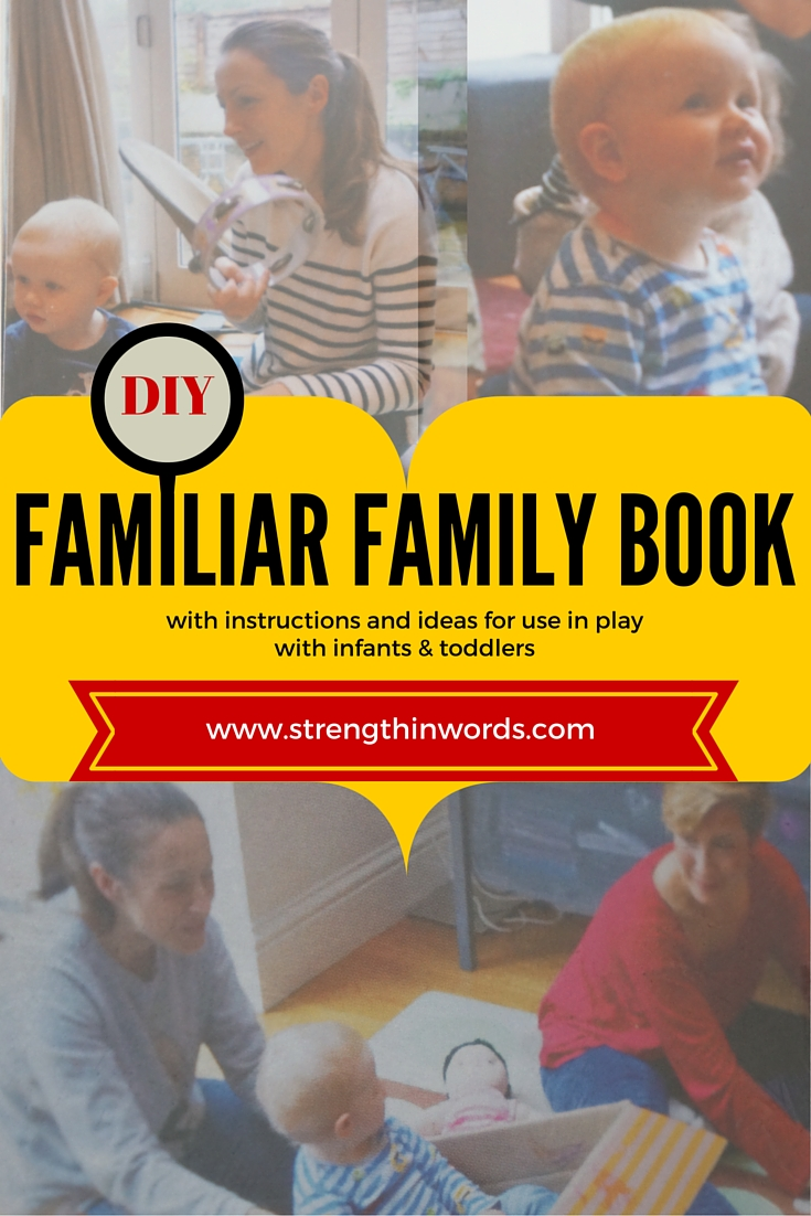 DIY Familiar Family Book