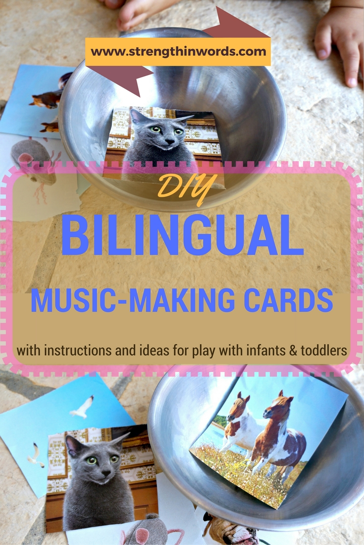 Bilingual Music Making Cards