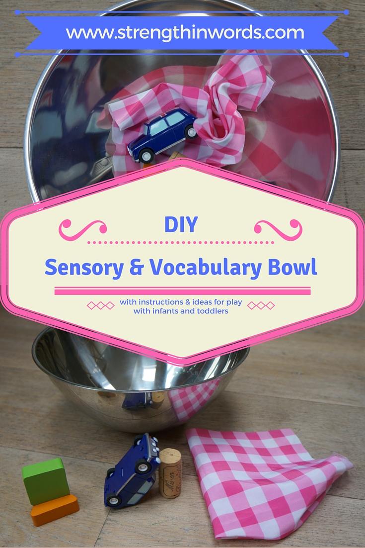 Sensory and Vocabulary Bowl