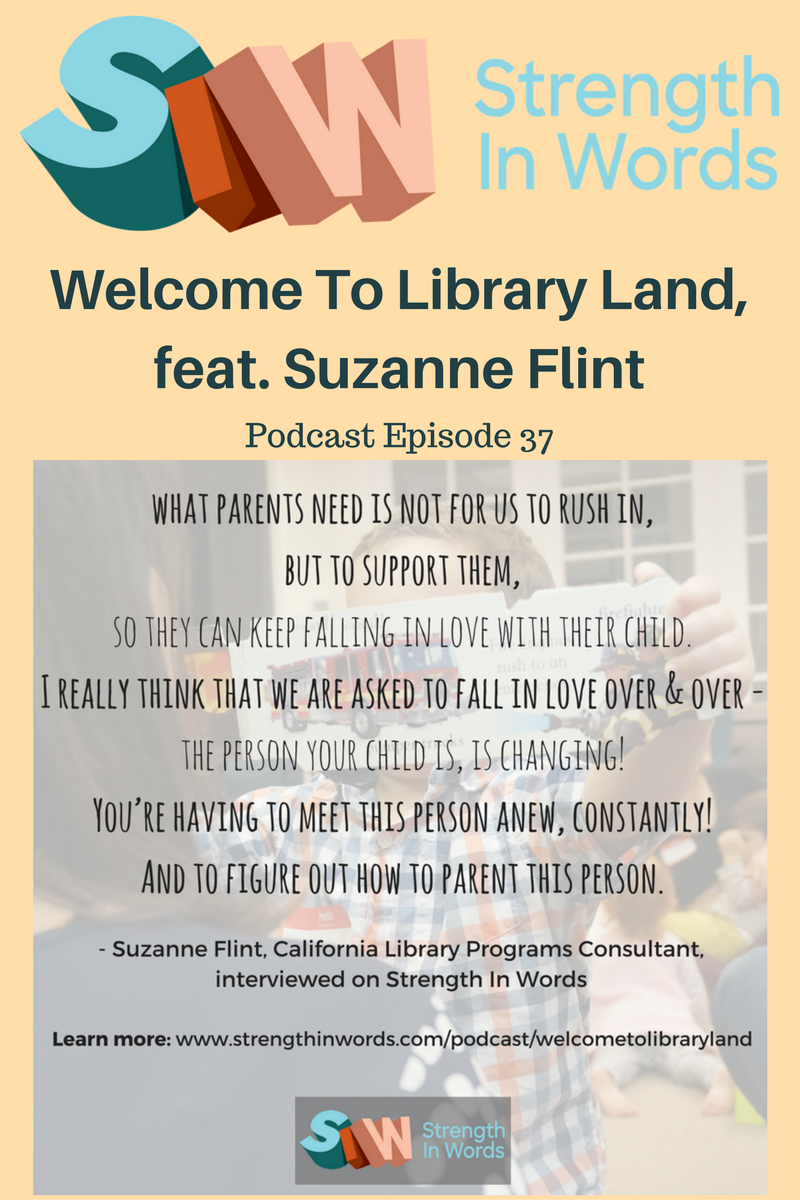 Welcome to Library Land, featuring Suzanne Flint