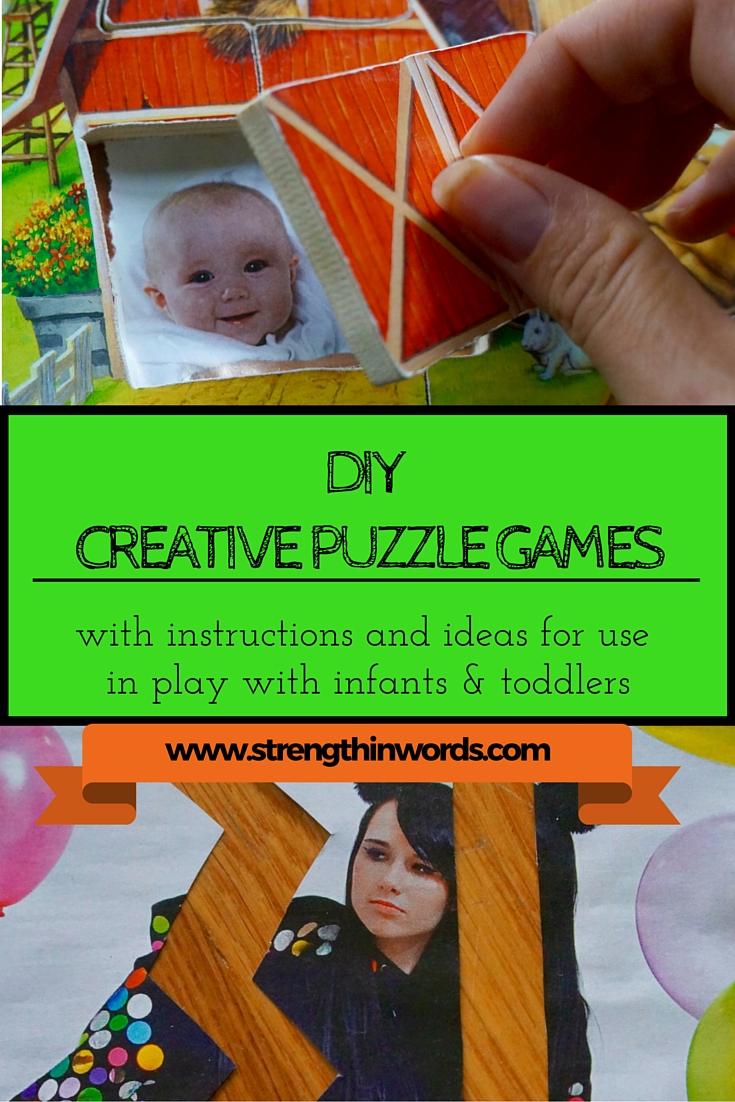 DIY Creative Puzzle Games