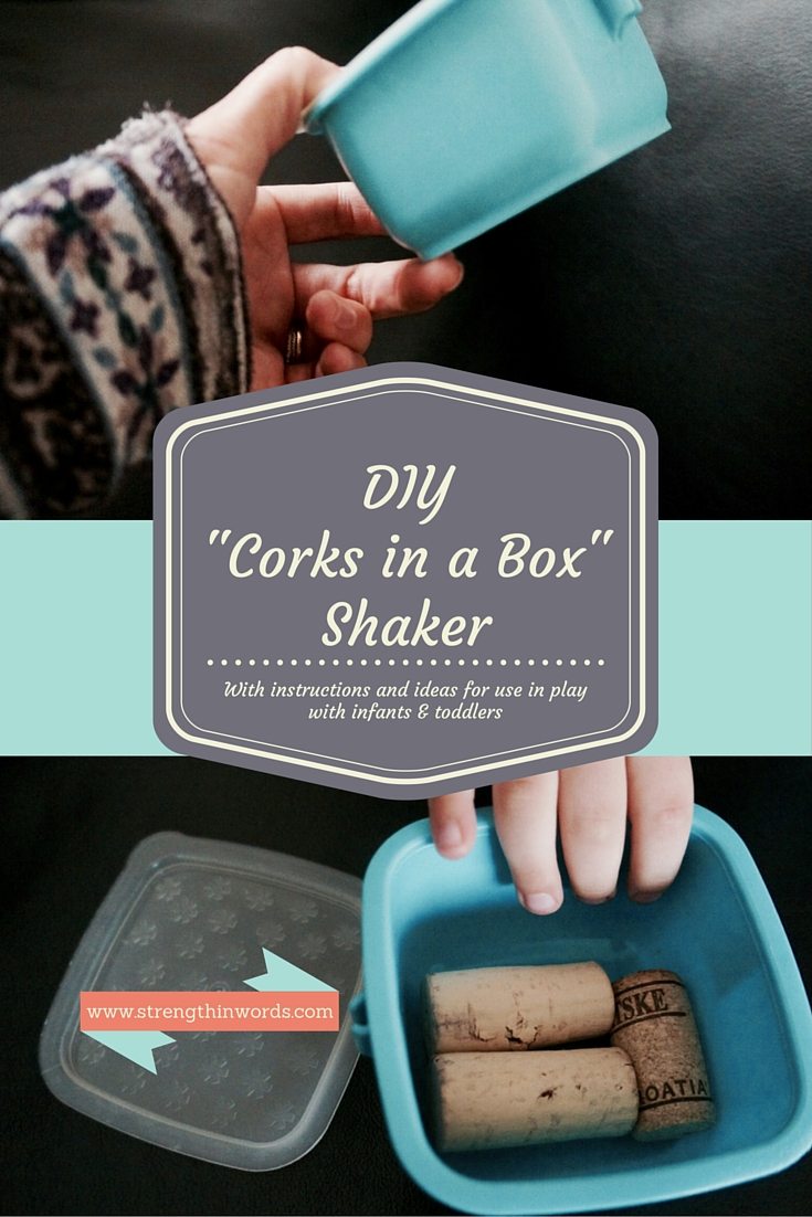 DIY Corks in a Box Shaker