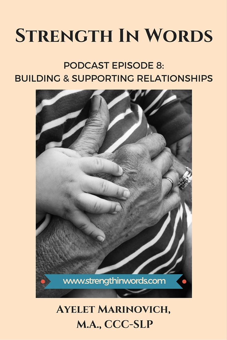 Building and Supporting Relationships