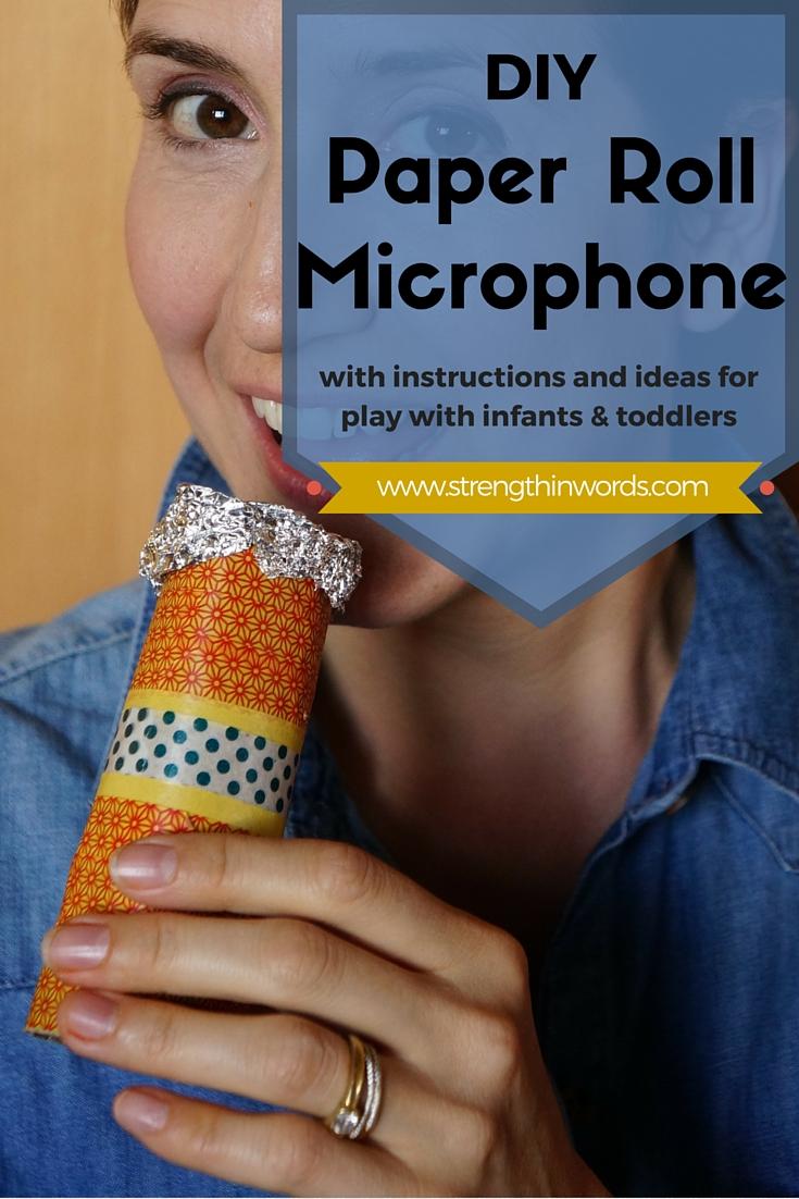 DIY Paper Roll Microphone