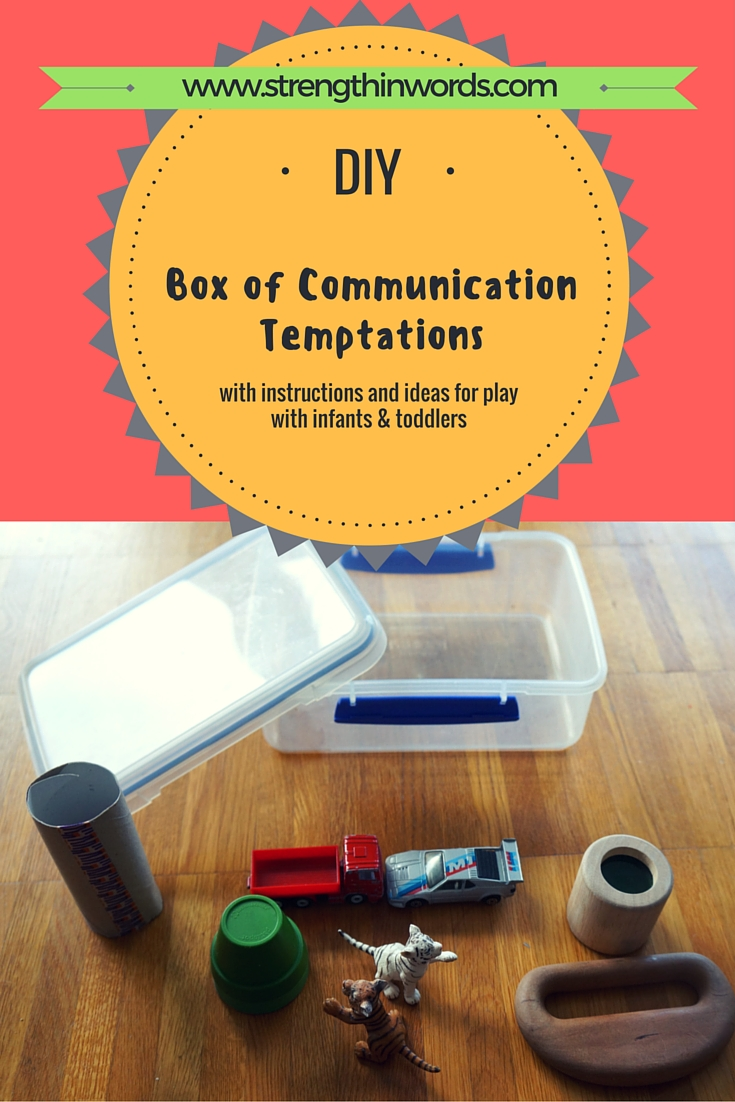 DIY Box of Communication Temptations