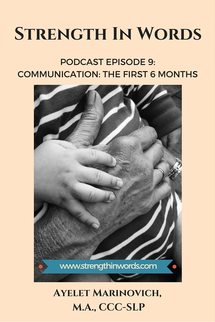 Communication in The First Six Months