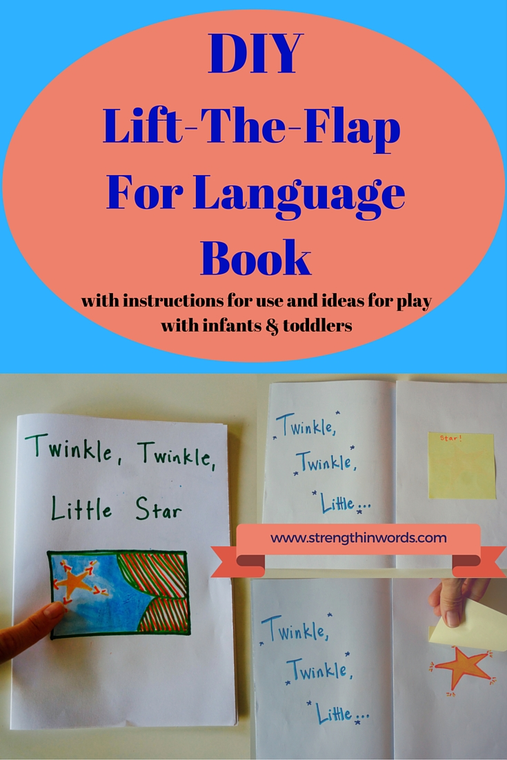 DIY Lift the Flap for Language Book