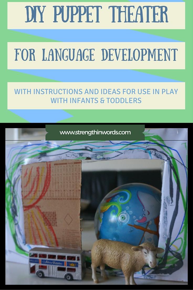 DIY Puppet Theater for Language Development