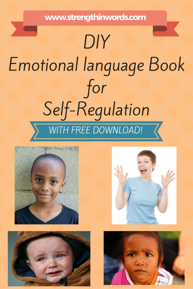 DIY Emotional Language Book For Self-Regulation