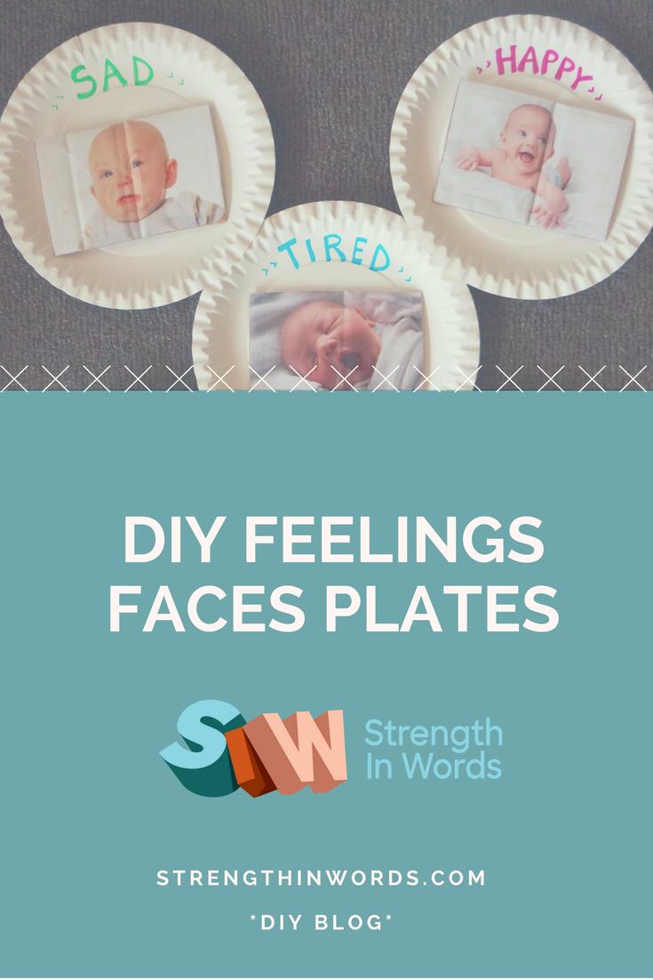 Feelings Faces Plates