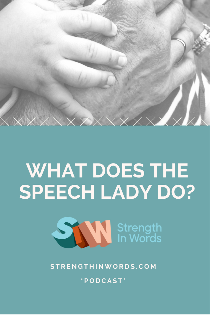 What Does The Speech Lady Do?