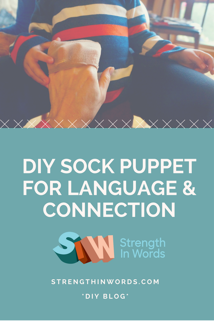 DIY Sock Puppet for Language and Connection
