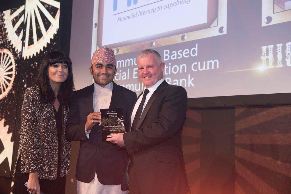 2017 Financial Innovation Award Winner (London, United Kingdom)