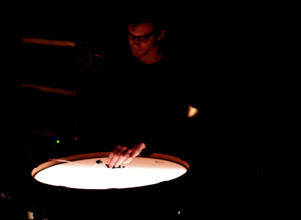 November 2014 -  Percussionist Ryan Packard improvises