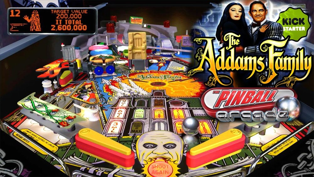 Addams Family Pinball by Midway