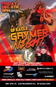 SF Eagle Gaymer Night Ad