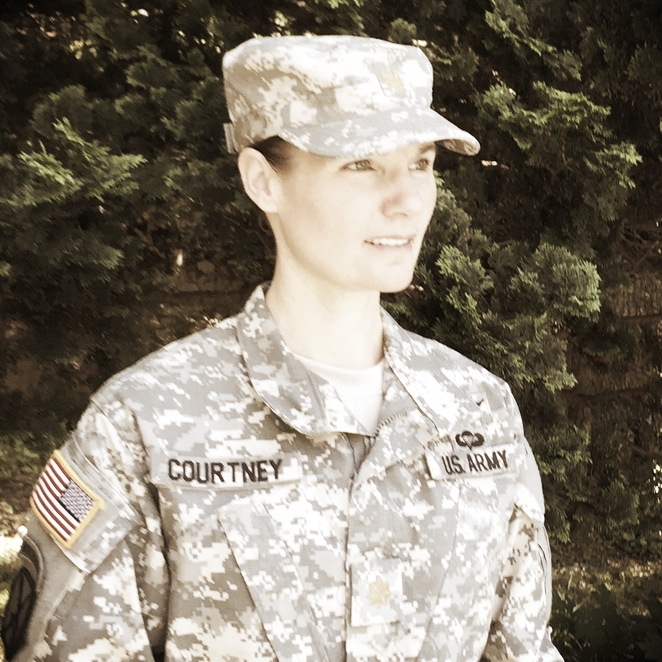 Erica Courtney | Business Affairs Director Afghanistan Veteran