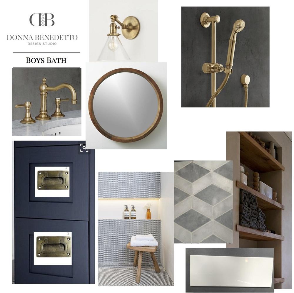 Boys Bath Design — Donna Benedetto Designs