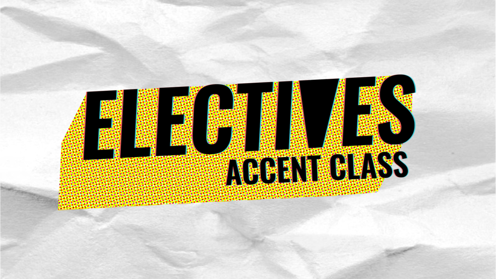 INTRO TO ACCENTS FOR IMPROV - Accents are a powerful tool in your improv and sketch arsenal. When someone gifts you an accent in a scene, do you freeze up like an accented deer in headlights, or make the most of it? Have you always wanted to learn accents, but don't know where to begin? This class is for you!