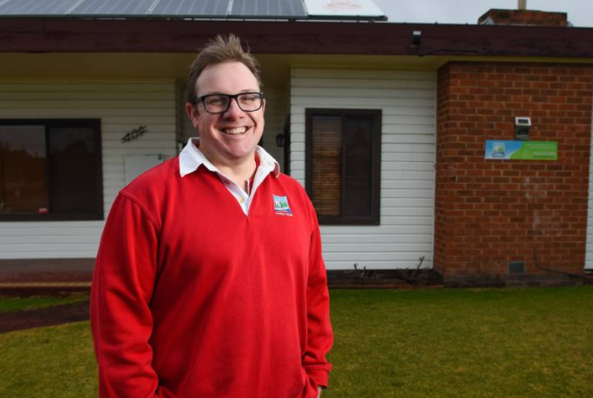 Country Hope is looking for more male carers like Nathan Wimhurst