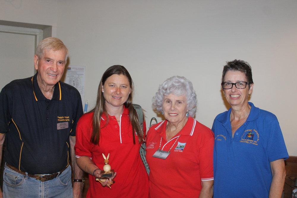 Ernie Hunt, Alisa Blackshaw, Babs Donaldson and Anne Leslie.