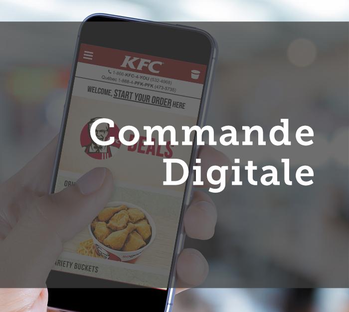APPLICATIONS MOBILES ET COMMANDES EN LIGNE AUPRÈS DE RESTAURANTS  Commande Digitale