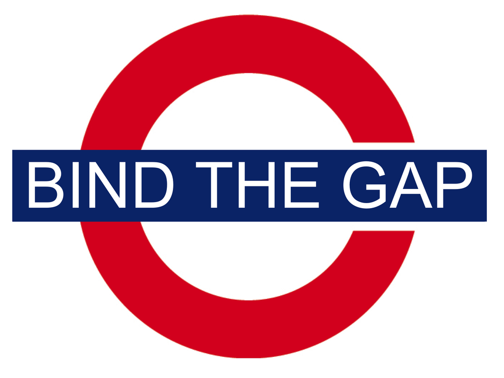 "successful organizations don't just ""mind"" the gap, they ""bind"" the gap"